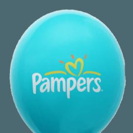 Трехцветная печать на воздушном шаре
