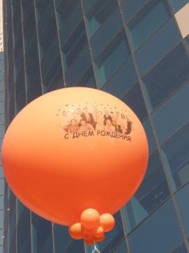 Печать фото на воздушном шаре