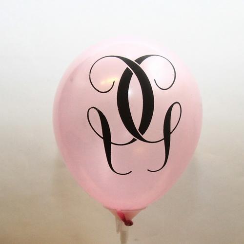 Печать на маленьких воздушных шарах