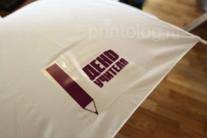 Термотрансферная печать на зонтах