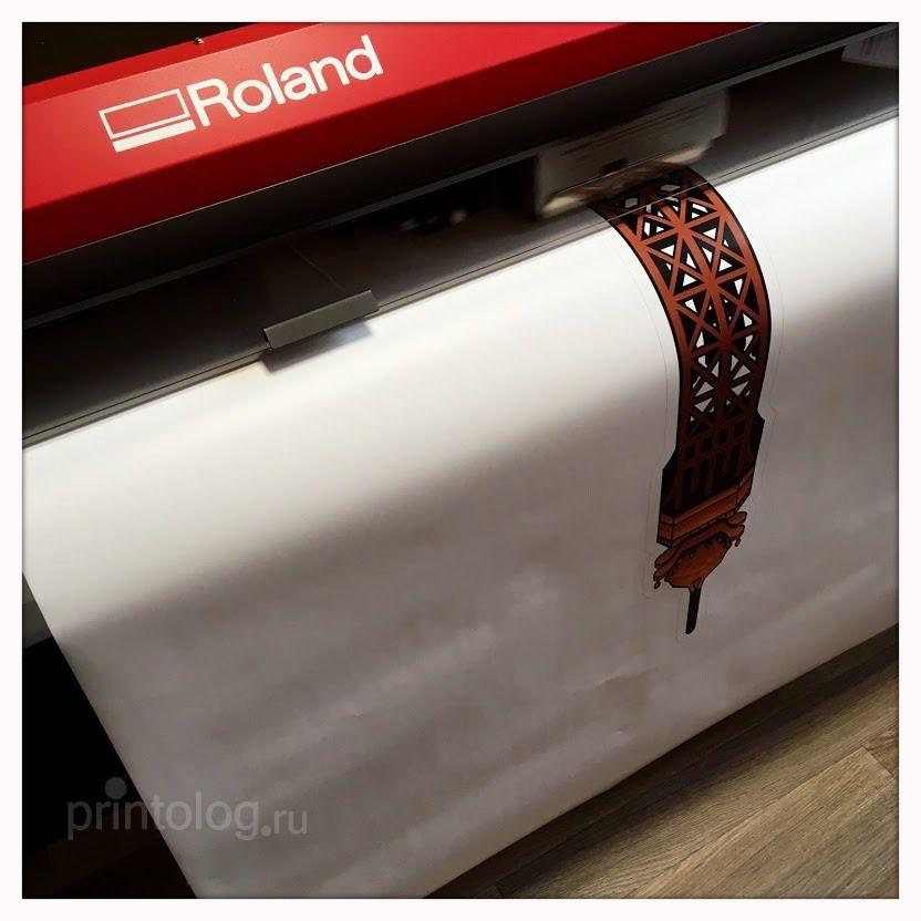 печать на самоклеющейся пленке