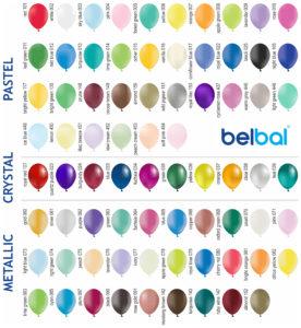 цвета шаров BELBAL