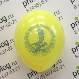 печать на воздушном шаре