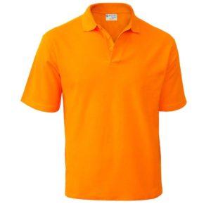 Печать на мужской рубашке поло