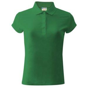 Печать на женской рубашке поло