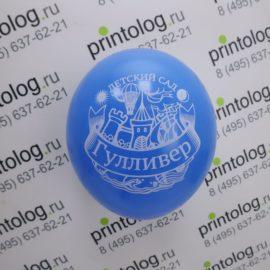Печать на шарах для детского сада