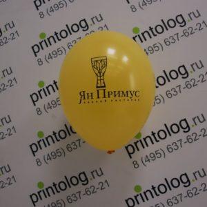 печать на шарах для пивного ресторана